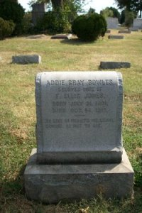 Addie Gray Bowles