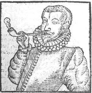 17th century tobacco smoker