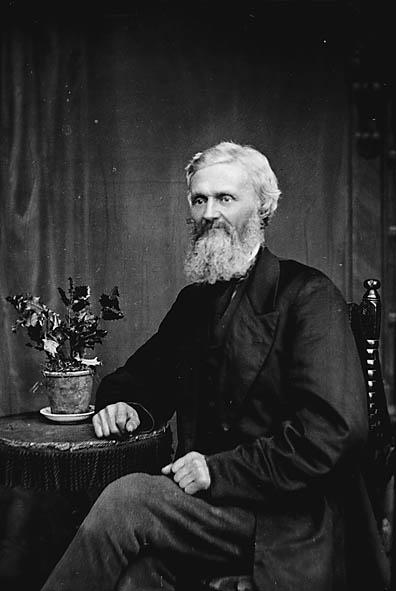 John Ellis Jones d. 1875 - Portrait taken 1875