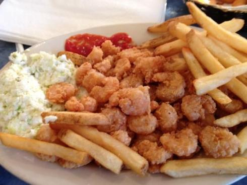 Calabash Shrimp from the NC Seafood Market